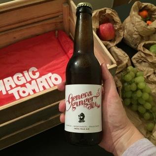 Une bière au gingembre