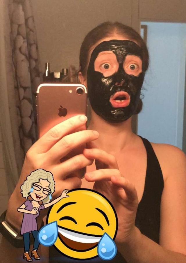 Brindemalice masque purifiant au charbon
