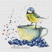 Brindemalice wishlist 2017 Zamorina Alexandra Tit with blueberry